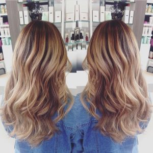 balayage hair color santa barbara california