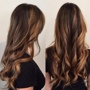 dark balayage santa barbara california