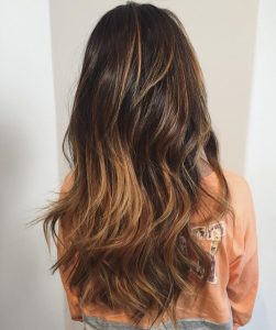 sombre hair color santa barbara california